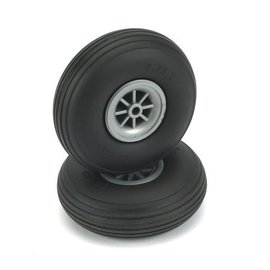 Dubro Treaded Wheels Rubber 2-3/4""