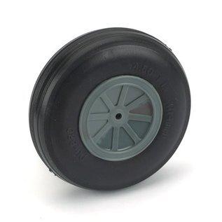 "Dubro Treaded Lite Wheel 4-1/2"""