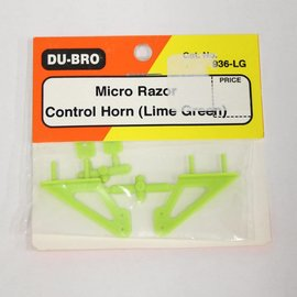 Dubro Micro Razor Control Horn, Green