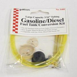 "Sullivan Gas Conversion Kit Large 3/16"" Tubing"