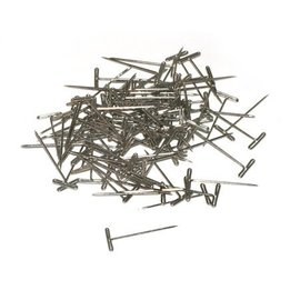 Dubro Nickel Plated T-Pins Small 1""