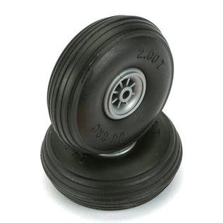 """Dubro Treaded Lightweight Wheel  2"""""""