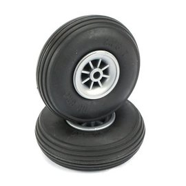 Dubro Treaded Wheels Rubber 2-1/4""