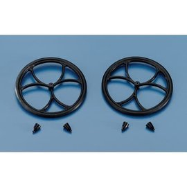 "Dubro Micro Lite Wheels Nylon 2-1/2"""