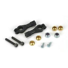Dubro E/Z Adjust Ball Links w/hardware 4-40