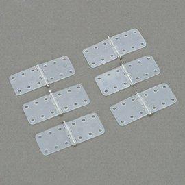 Dubro Nylon Hinge 6/pk Small
