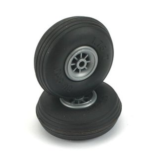 Dubro Treaded Wheels Rubber 1-3/4""