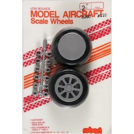 Robart Scale Wheels Straight 2""