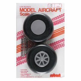 Robart Scale Wheels Straight 3-3/4""
