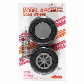"Robart Scale Wheels Diamond 2-3/4"""