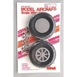 Robart Scale Wheels Diamond 3-1/4""