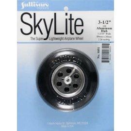 """Sullivan Skylite Wheel Aluminum 3-1/2"""""""