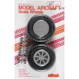 "Robart Scale Wheels Diamond 2-1/2"""