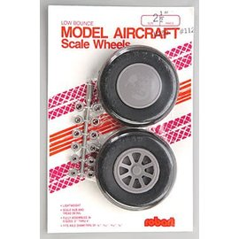 Robart Scale Wheels Straight 2-1/2""