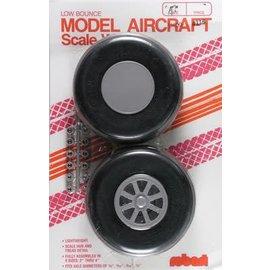 "Robart Scale Wheels Straight 4"""