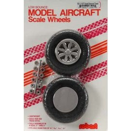 Robart Scale Wheels Diamond 3-1/2""