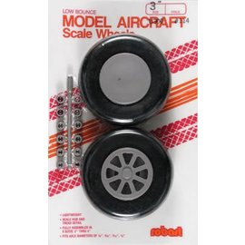 Robart Scale Wheels Straight 3""