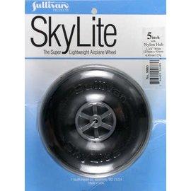 "Sullivan Skylite Wheel Nylon 5"""