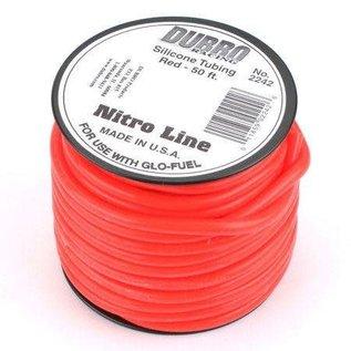 Dubro Glow Fuel Tubing Medium /Foot Red