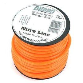 Dubro Glow Fuel Tubing Medium /Foot Orange