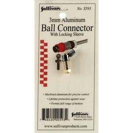 Sullivan 3mm Aluminum Ball Connector