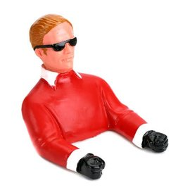 H9 1/9 Pilot with Sunglasses (Red) with Arms