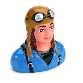 H9 1/6 Pilot Linda helmet & goggles