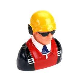 H9 1/7 Pilot w/helmet & headphones