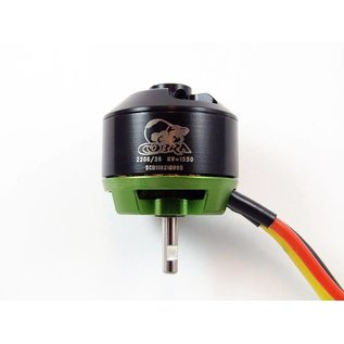 Cobra Brushless Motor 2208/26 KV 1550