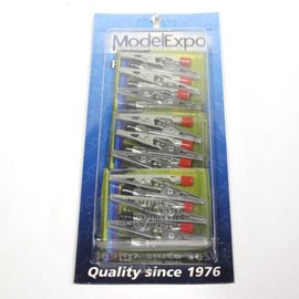 Model Expo Alligator Clamps 24 pcs.  1/2""