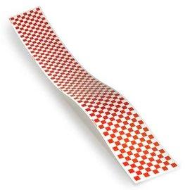 "Monokote Trim Sheet Check Red/Clear 5"" x 36"""