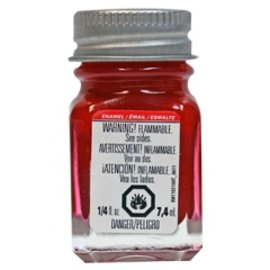 Testors Enamel 1/4oz Metallic Red