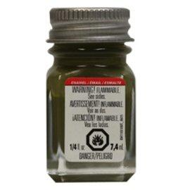 Testors Enamel 1/4oz Flat Olive