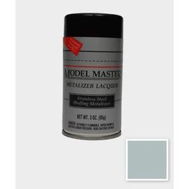 Metalizer Lacquer Spray 3oz Stainless