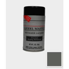 Metalizer Spray Lacquer Titanium 3oz