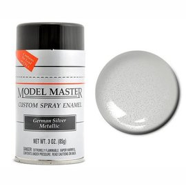 MM Car Spray German Silver Metallic