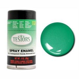 Testors Spray 3oz Candy Emerald Green
