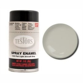 Testors Spray 3oz Flat Aircraft Gray