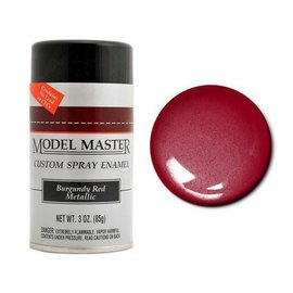 MM Car Spray Burgundy Red Metallic