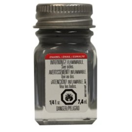Testors Enamel 1/4 oz Flat Battle Gray