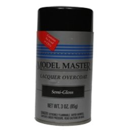 MM Spray Clear Lacquer Semi-Gloss Finish