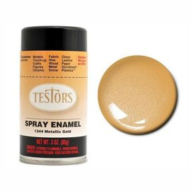 Testors Spray 3oz Gold