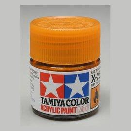 Tamiya Acrylic Mini X26, Clear Orange
