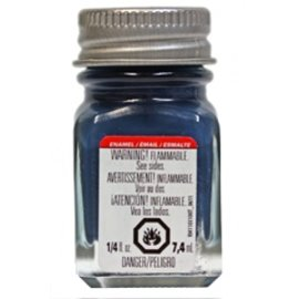 Testors Enamel 1/4oz Flat Sea Blue