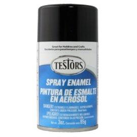 Testors Spray 3oz Black