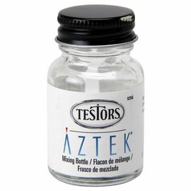 Testors 1oz Empty Glass Bottles