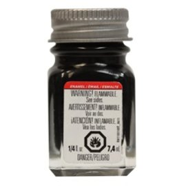 Testors Enamel 1/4oz Gloss Black