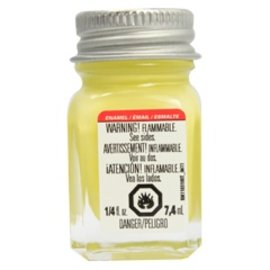 Testors Enamel 1/4oz Light Yellow