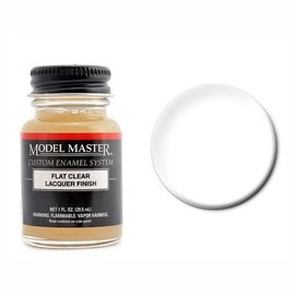 MM Lacquer 1oz Flat Clear