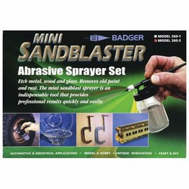 Badger Mini Sandblaster Abrasive Sprayer Set